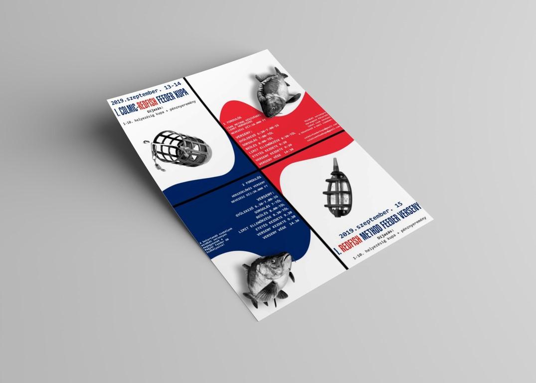 Colmic-Redfish horgászverseny plakát