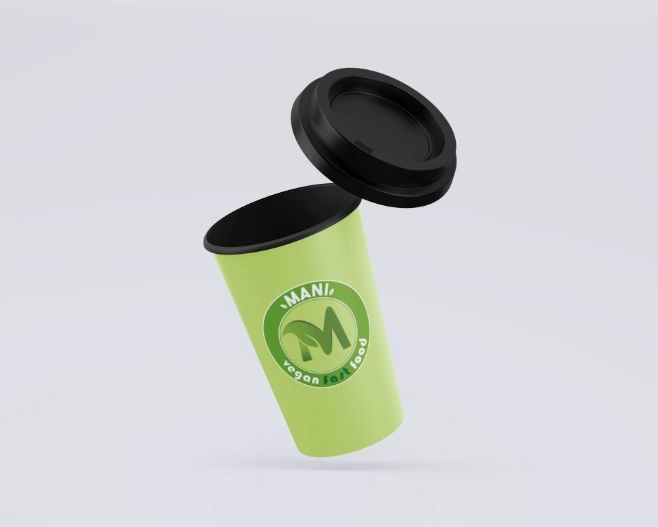 MANI vegán gyorsétterem logója
