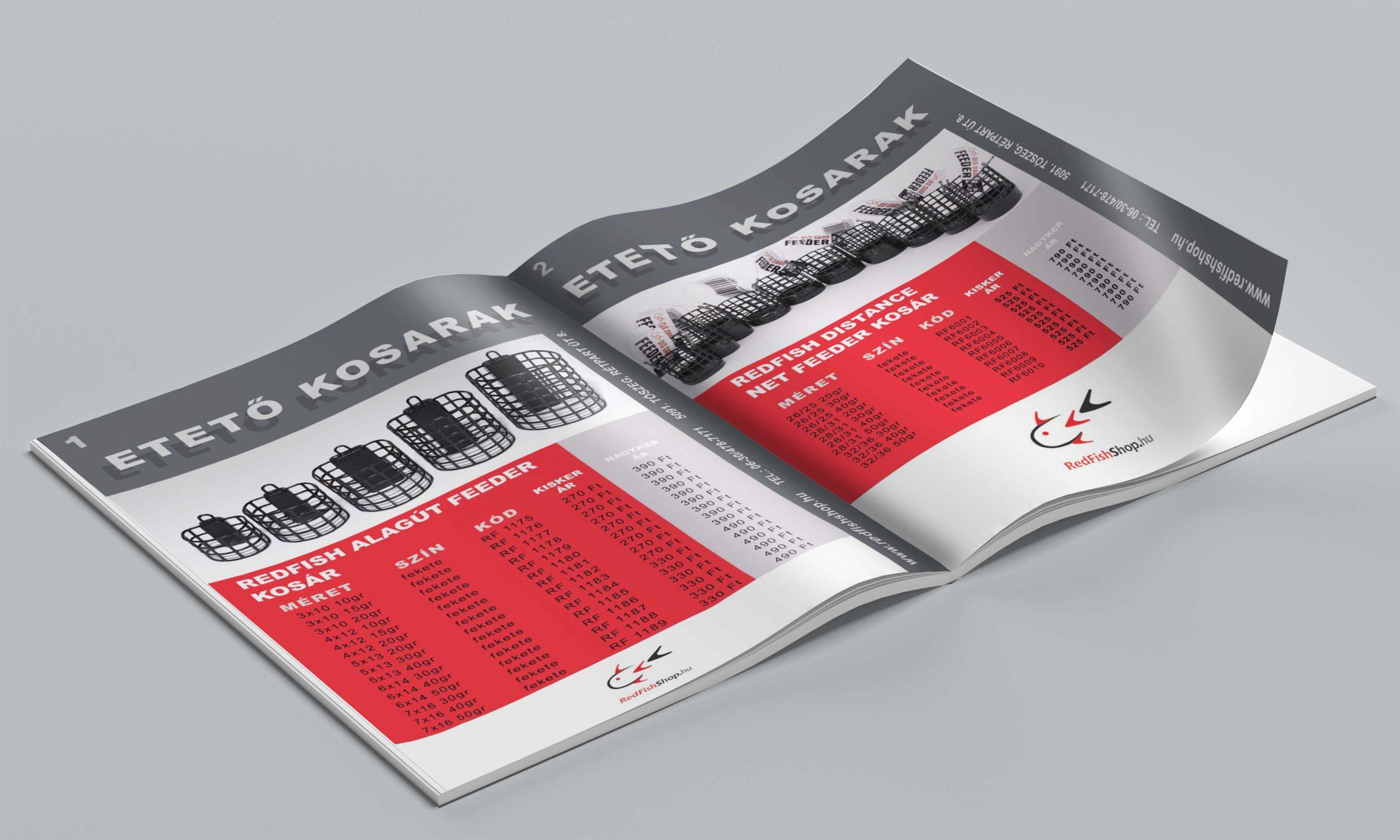 RedFish Horgászbolt termékkatalógus 2020