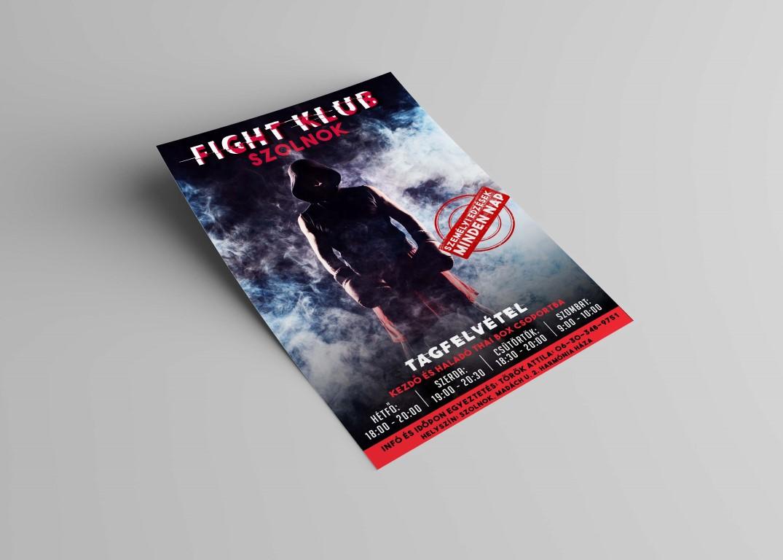 Fightklub Szolnok SE plakátja