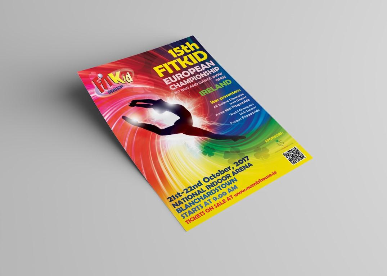 FitKid Európa Kupa plakát