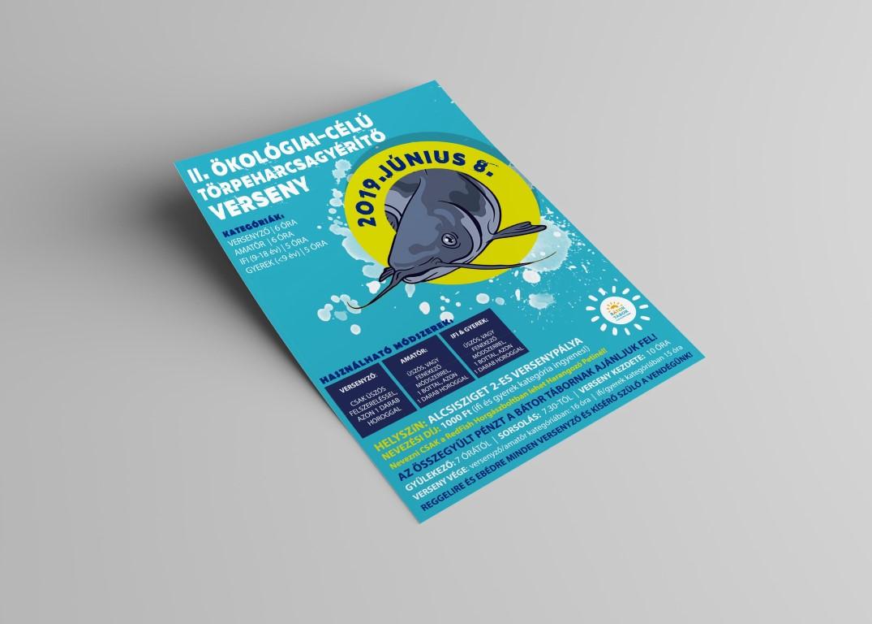 Horgászverseny plakát 1